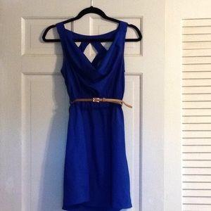 Size Small cobalt blue dress